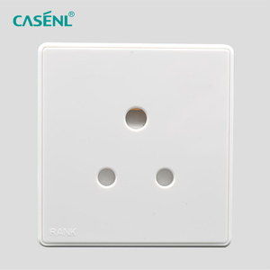 15A Three Round Pin Socket