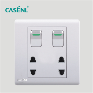 Two Gang Four Pin Switch Socket